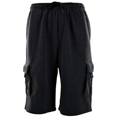 ChoiceApparel Mens Cargo Sweat Shorts (M up to 5XL)