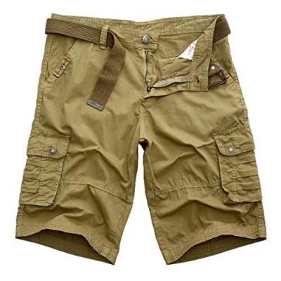 Mens Cargo Shorts Relaxed Classic Shorts for Men Multi Pockets Loose Mens Short