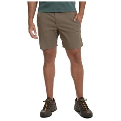 Wrangler Monument Outdoor Performance Relaxed Fit at Knee Flex Cargo Shorts Brown