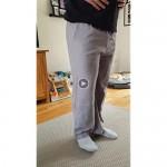 COOFANDY Men's Linen Pants Casual Elastic Waist Drawstring Yoga Beach Trousers