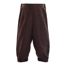 BLESSUME Retro Colonial Pants Renaissance Mens Knicker Pants Breeches