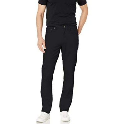 Essentials Men's Athletic-Fit 5-Pocket Stretch Twill Pant