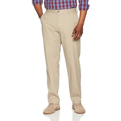 Essentials Men's Classic-fit Wrinkle-Resistant Flat-Front Chino Pant