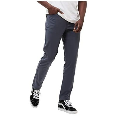 Western Rise at-Slim Pant for Men. Durable Comfortable Stain Resistant with 2 Way Stretch