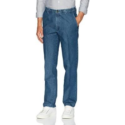 Haggar Men's Casual Classic Fit Denim Trouser Pant-Regular and Big & Tall Sizes