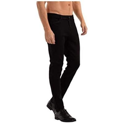 Mens Slim Fit Jeans Skinny Stretch Denim Pants for Men Straight Fit