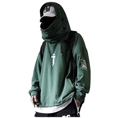 Aelfric Eden Mens Womens Green Fashion Oversize Hooded Sweatshirt Jersey Hip-Hop Hoodie Plus Size Hoodies Pullover