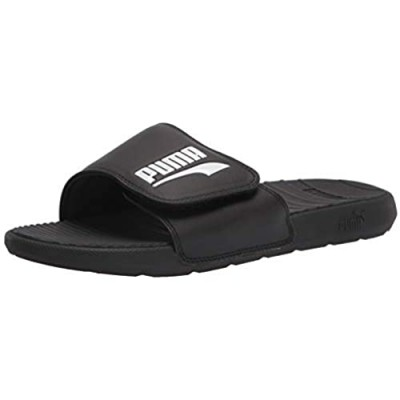 PUMA Men's COOL CAT HOOK AND LOOP Slide Sandal