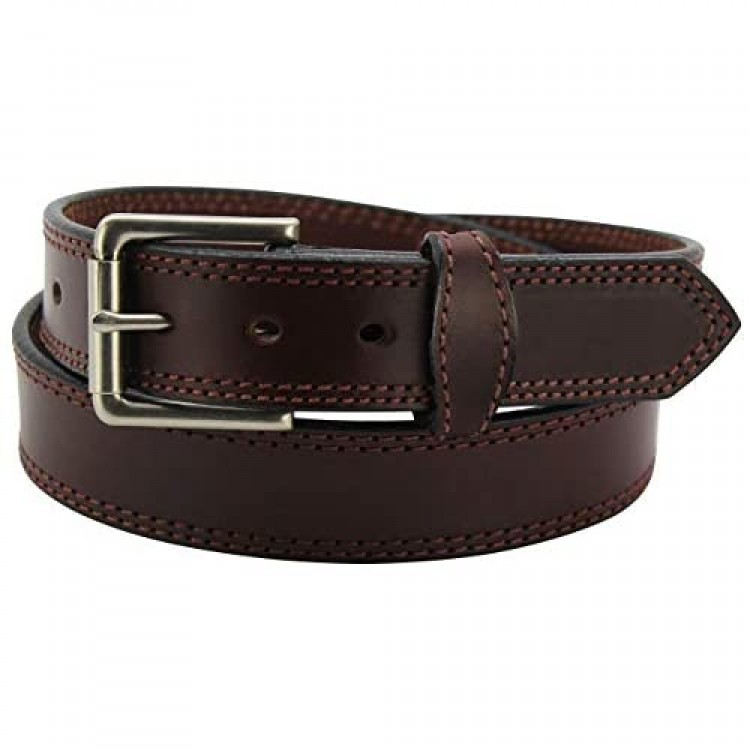 Bullhide Belts Mens Leather Casual & Dress Belt USA Made