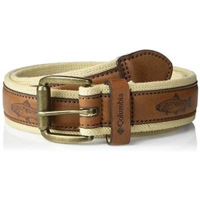 Columbia Men's Comfort Stretch Casual Fabric Belt
