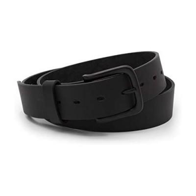 The Huntsman - Full Grain Leather Black Belt - Made in USA