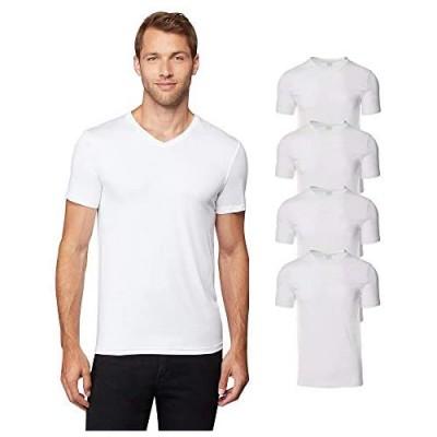 32 DEGREES Mens 4 Pack Cool Quick Dry Active Basic Vneck T-Shirt