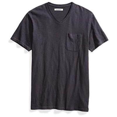 Brand - Goodthreads Men's Lightweight Slub V-Neck Pocket T-Shirt