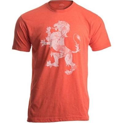Dutch Pride | Vintage Style Retro-Feel Netherlands Lion & Flag Unisex T-Shirt