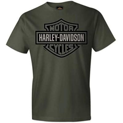 Harley-Davidson Military - Men's Fatigue 100% Cotton Graphic Short-Sleeve T-Shirt - RAF Lakenheath | Bar & Shield