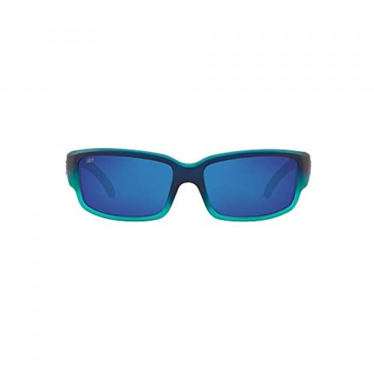 Costa Del Mar Men's Caballito Rectangular Sunglasses