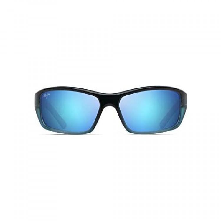 Maui Jim Barrier Reef Wrap Sunglasses
