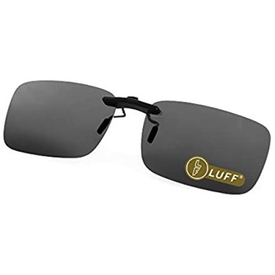 Polarized Clip on Sunglasses for Prescription/Myopia Eyeglasses Outdoor/Driving