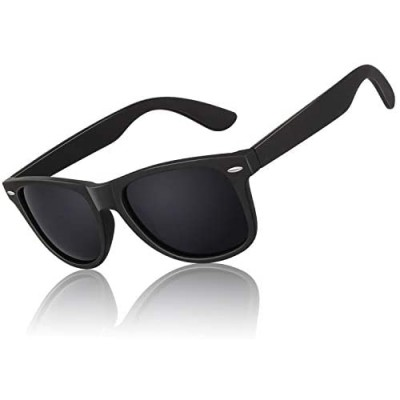 Polarized Sunglasses for Men Driving Sun glasses Shades 80's Retro Style Brand Design Square