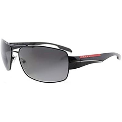 Prada Linea Rossa Men's PS 53NS Sunglasses Black/Polar Grey Gradient 65mm