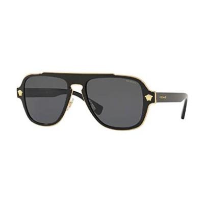 Versace VE2199 MEDUSA CHARM Square Sunglasses For Men