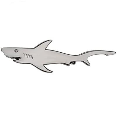 Yoursfs Unique Ocean Large Fish Tie Clip Animal Gold Tie Clip Men's Tie Accessories Gifts