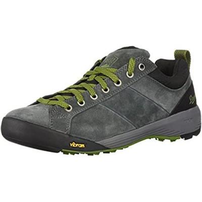 "Danner mens Camp Sherman 3"" Hiking Boot Gray/Green - Suede 10 US"