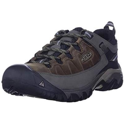 KEEN Men's Targhee 3 Low Height Waterproof Hiking Shoe