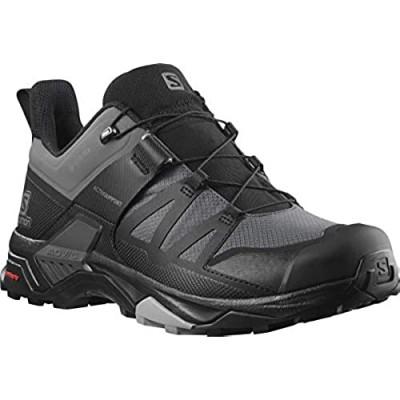 Salomon Men's X Ultra 4 GTX Hiking Shoe Magnet/Black/Monument