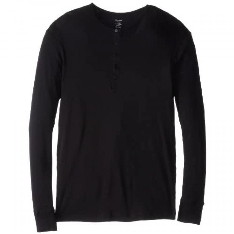 2(X)IST Men's Essential Long Sleeve Henley