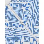 COOFANDY Men's Henley Shirt Long Sleeve Floral Print Casual Zip Up Cotton Beach Party Hippie T Shirt