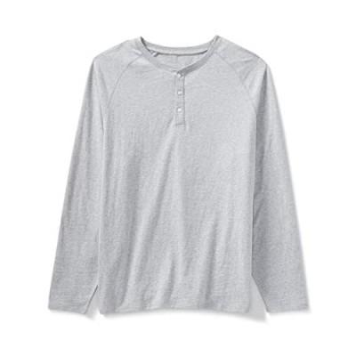 Essentials Men's Big & Tall Long-Sleeve Henley Shirt fit by DXL