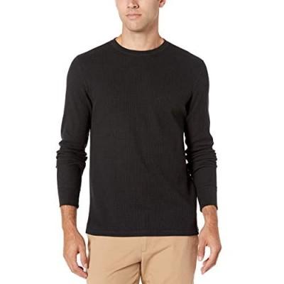 Essentials Men's Slim-fit Long-Sleeve Waffle Shirt
