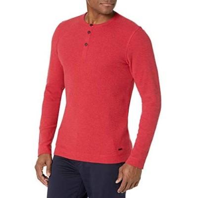 Hugo Boss Men's Waffle Long Sleeve Shirt