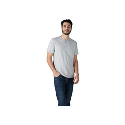 Lee Men's Henley Short Sleeve T-Shirt | Casual Soft Breathable Cotton Tee - Regular Fit