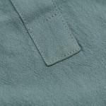 Men's Linen Cotton Henley Shirt - Casual Short/Long Sleeve Hippie Button Up Beach T Shirts -7 Colors