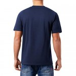 QUALFORT Men's Henley Shirts Short Sleeve Casual Basic Summer Solid T Shirts with Pocket