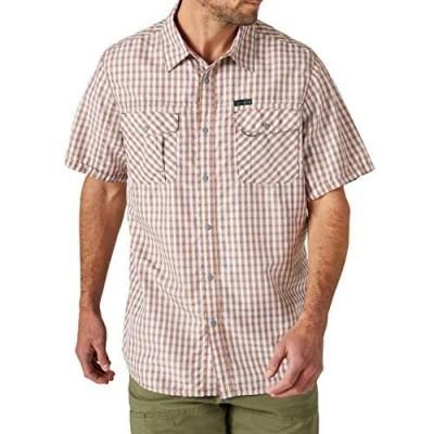ATG by Wrangler Men's Short Sleeve Flap Pocket Hike Shirt