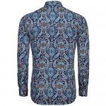 COOFANDY Men's Floral Dress Shirt Slim Fit Casual Paisley Printed Shirt Long Sleeve Button Down Shirts