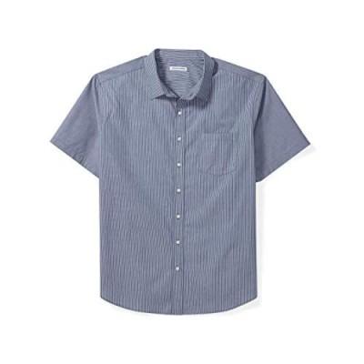 Essentials Men's Big & Tall Short-Sleeve Stripe Shirt fit by DXL