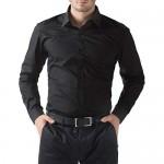 Paul Jones Men's Long Sleeves Button Down Dress Shirts