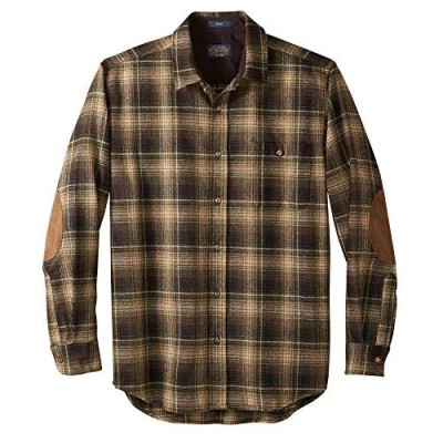 Pendleton Men's Long Sleeve Button-Front Tall Trail Shirt