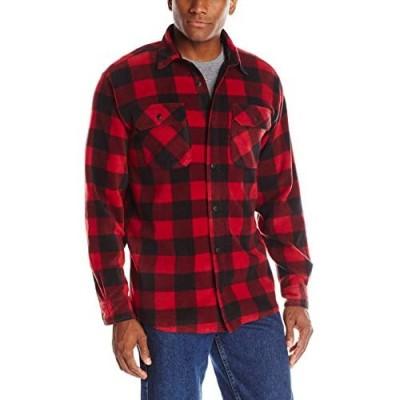 Wrangler Authentics Men's Long Sleeve Heavy Weight Fleece Shirt