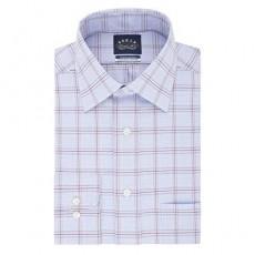 Eagle Men's Dress Shirt Regular Fit Non Iron Stretch Collar Check