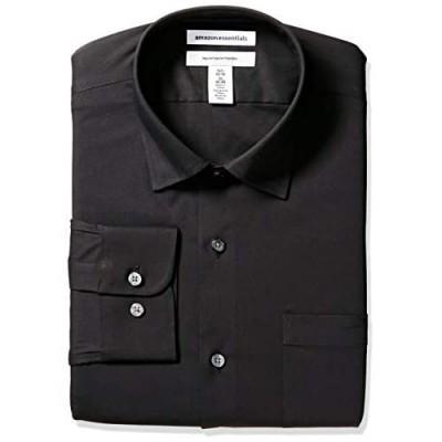Essentials Men's Regular-fit Wrinkle-Resistant Stretch Dress Shirt
