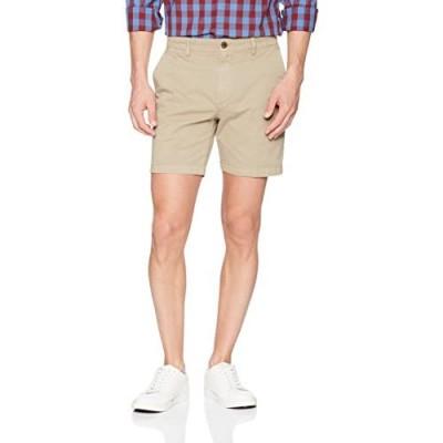 "Brand - Goodthreads Men's 7"" Inseam Flat-Front Comfort Stretch Chino Short"