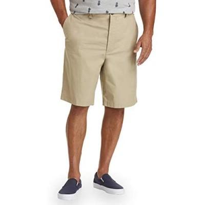 Essentials Men's Standard Big & Tall Lightweight Chino Short fit by DXL